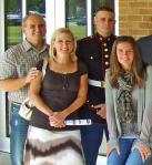 Sgt. Alex Knutson and family